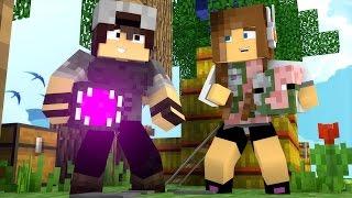 Minecraft: CORRIDA PVP - ARMADURAS DE MOBS!
