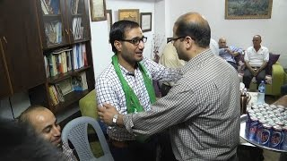 الافراج عن الأسير محمود ملحم من بلد عنبتا بعد قضاء محكوميته البالغة سنتين