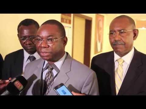 Interview de Dr Abdou TENKOUANO, D.E du CORAF/WECARD lors du lancement du Programme de Mentorat des Jeunes
