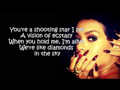 Rihanna - Diamonds (AUDIO + LYRICS) New Premiere Song 2012