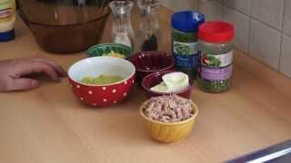 Pyszna pasta z tuńczyka i awokado
