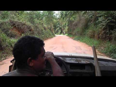 Pegando Carona para Aldeia Indígena em uma Brasília Conversível - Carmésia MG