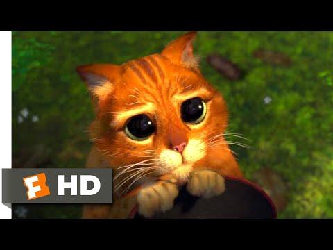 Shrek 2 (2004) - Puss in Boots Scene (3/10) | Movieclips