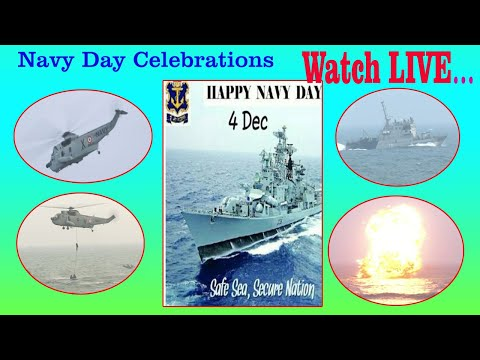 Navy Day Celebrations at Beach Road AP CM Participated in Visakhapatnam  Courtacy by I&PR  LIVE