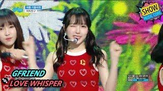 Video [HOT] GFRIEND - LOVE WHISPER, 여자친구 - 귀를 기울이면 Show Music core 20170812 MP3, 3GP, MP4, WEBM, AVI, FLV September 2017