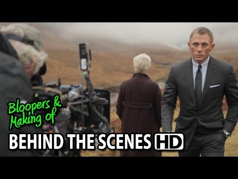 Skyfall (2012) Making of & Behind the Scenes (Part2/2)