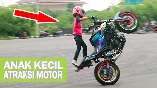 Video Wahyu Nugroho, Talented Little Kid Doing Extreme Stunts on Motorcycle (Little Stunt Rider) Indonesia MP3, 3GP, MP4, WEBM, AVI, FLV Agustus 2017
