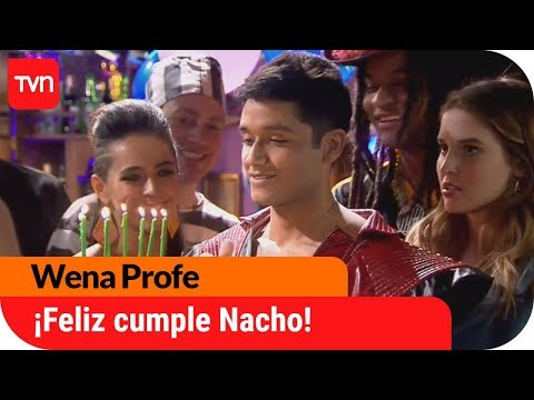 ¡Feliz cumpleaños Nacho!  Wena Profe