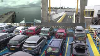 Roscoff France  city pictures gallery : Brittany Ferries MV Armorique Departing Roscoff, Finistère, Brittany France 26th August 2014