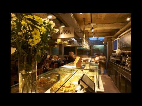Interior design and shop fitting of bakery FORN BERTRAN. Badalona