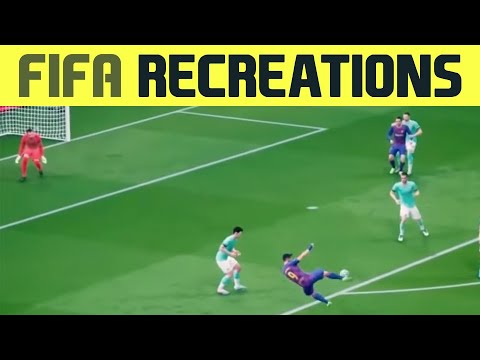 FIFA Recreations: The Best Goals of the Champions League Group Stage