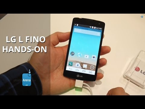 LG L Fino Hands-on