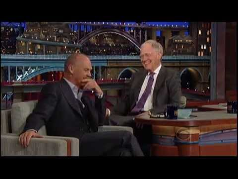 Michael Keaton on David Letterman - Mr. Mom story
