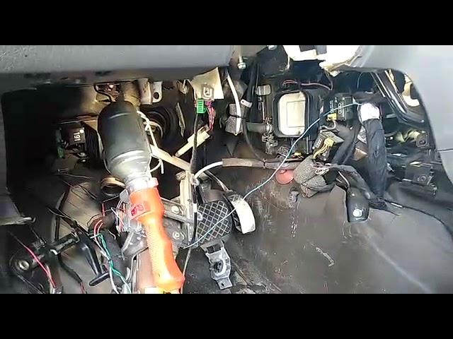 Ауди А8 Д2 (A8 D2) замена радиатора отопителя (печки) в салоне автомобиля