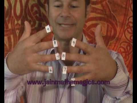 Times Table On Fingers: Magic Fingers by Jain 108