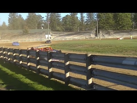 Super Late Model - Hot Laps   Fence/Speed Shot   Little Valley Speedway   9-14-13