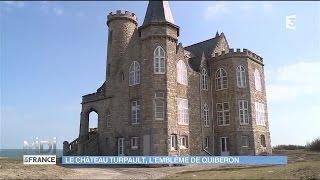 Quiberon France  city pictures gallery : Le château Turpault, l'emblême de Quiberon