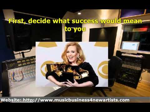 Music Marketing Plan ' Setting Up Goals for Your Music Career