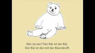 Kunterbunte Kinderlieder - Das Bärenlied (mit Text)