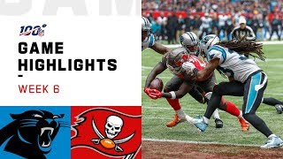 Panthers vs. Buccaneers Week 6 Highlights   NFL 2019