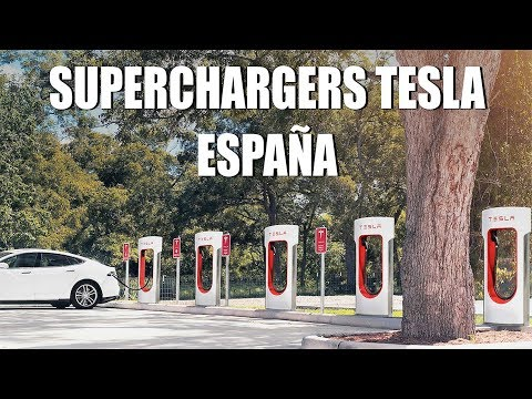 ¿Qué Superchargers de TESLA tendrá España en 2019?