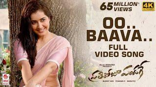 Video Prati Roju Pandaage Video Songs   Oo Baava Full Video Song   Sai Tej   Raashi Khanna   Thaman S download in MP3, 3GP, MP4, WEBM, AVI, FLV January 2017