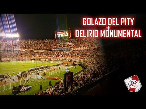 GOL DEL PITY + TODO LO QUE YO VIVÍ / Hinchada de River Plate vs Belgrano - Los Borrachos del Tablón - River Plate