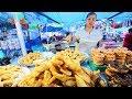Indonesian Street Food  Crazy Bali Night Market  Best Street Food In Bali  Babi Guling Indonesia
