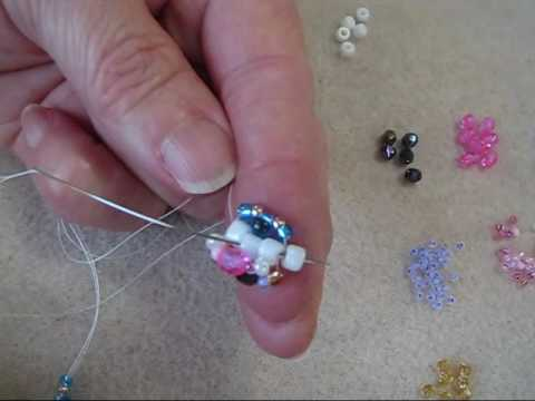 Triple Spiral Beading - How to start.wmv