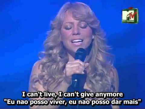 #26 Mariah Carey - Without You ( I Can't Live If Living Is Without You with) Ingles Com Musica