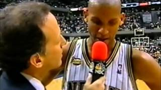 Reggie Miller: Leading the Pacers over Shaq and the Lakers (2000 Finals Game 3, 33 points)