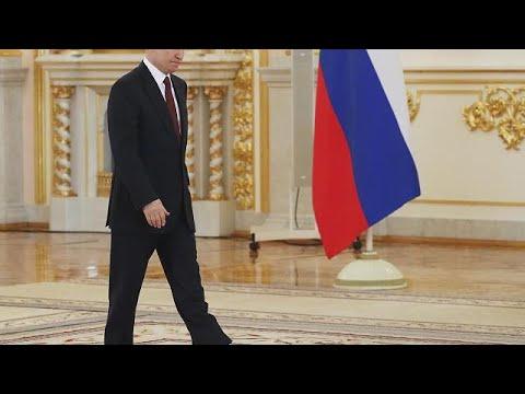 Zum vierten Mal Präsident: Putin vor erneuter Vereidi ...