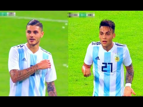 Mauro Icardi And Lautaro Martínez Vs Brazil(16/10/2018)Friendly HD 720p By轩旗