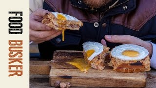 Croque Madame  | Food Busker by Food Busker