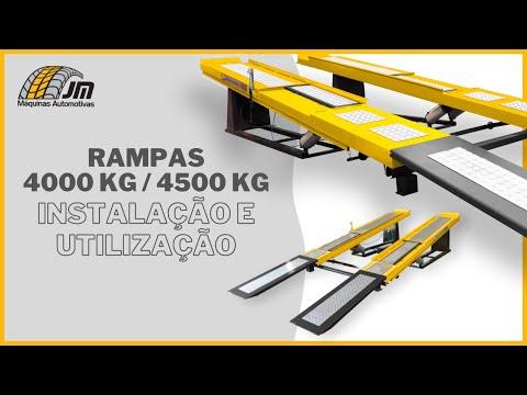 Rampa 4T - 4,5T - Montagem e Utilização