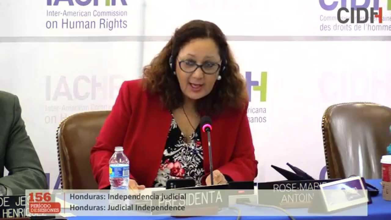 Situación de la independencia judicial en Honduras