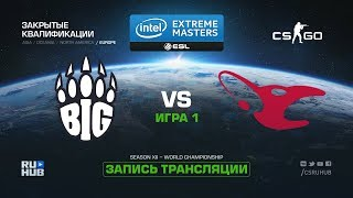 BIG vs mousesports - IEM Katowice Qual EU - map1 - de_cobblestone [SleepSomeWhile]