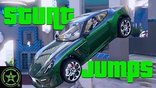 Classic Los Santos Stunt Jumps - GTA V: Stunt Jumps 3 by Let's Play