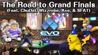 The Road to Grand Finals: ChuDat, Wizzrobe, Axe, & SFAT