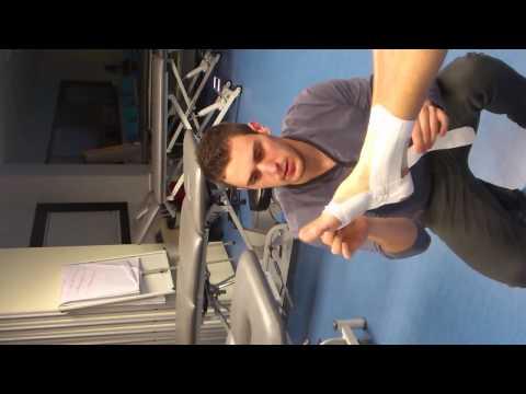 Vendaje funcional ligamento deltoideo