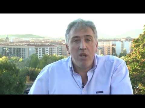 Joseba Asiron, candidato de EH Bildu a la alcaldía de Iruñea