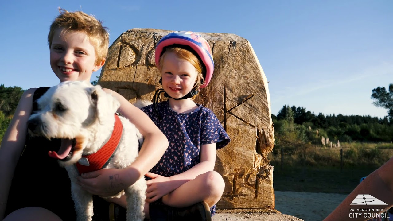 YouTube placeholder image shows two children and a dog.