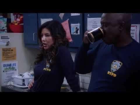 Jake Falls Through The Ceiling | Brooklyn 99 Season 7 Episode 4