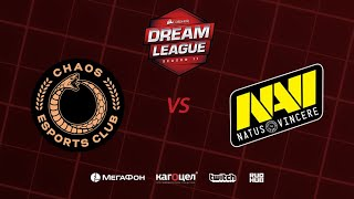 Chaos Esports Club vs Natus Vincere, DreamLeague Season 11 Major, bo3, game 2 [Jam & Maelstorm]