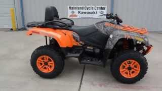 7. $11,399:  2016 Arctic Cat TRV700 Special Edition Camo and Orange Overview and Reveiw