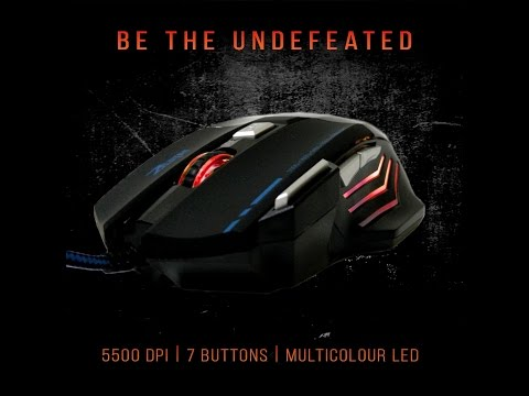 How To Change The Zelotes 5500 DPI Gaming Mouse Colors From Cycling To One Solid Color!