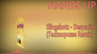 Slingshotz - Despacito (Technoposse Remix)Hands Up Music 4everDownload/Buy:https://www.beatport.com/label/lng-music/25456http://www.lngmusic.com/http://www.facebook.com/LNGMusicSubscribe and let's keep this best genre allways aliveOur Official Facebook page::►►► https://www.facebook.com/pages/HANDS-UP-MUSIC-DJ/143182195844829-------------------------To owners or copyright holders:If you dont wanna see your track in my channel, contact me and I will IMMEDIATELY remove the video. Thanks!-------------------------We do not own neither the music nor the remix itself! We just support both, the producer and the Remixer. WE JUST DISTRIBUTE AND HONOR THIS WORK.