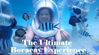 Boracay Island Philippines  city photos : BORACAY ISLAND PHILIPPINES 2016 (Helmet Diving, Zipline, Flying Fish)
