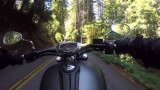 9. 2014 Yamaha Stryker Ride through Santa Cruz Mountains