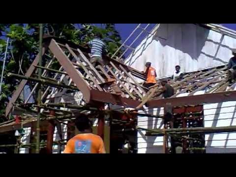 Renovasi, Ganti Atap Gereja Jemaat GPM Haruku-Sameth.mp4